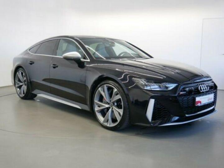 Audi RS7 Sportback V8 4.0 TFSI 600 Tiptronic 8 Quattro / CERAMIQUE / GPS/ TOIT PANO/ GARANTIE 12 MOIS Noir métallisée  - 1