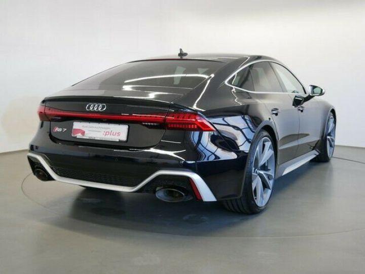Audi RS7 Sportback V8 4.0 TFSI 600 Tiptronic 8 Quattro / CERAMIQUE / GPS/ TOIT PANO/ GARANTIE 12 MOIS Noir métallisée  - 4