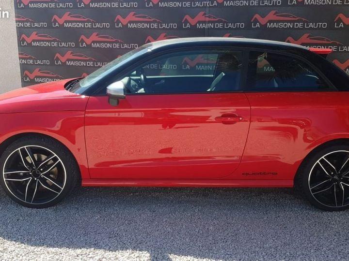 Audi S1  2.0 TFSI 231ch * FRANCAISE * EXCELLENT ETAT * GARANTIE Rouge et Noir  - 2
