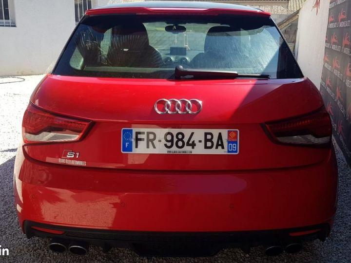 Audi S1  2.0 TFSI 231ch * FRANCAISE * EXCELLENT ETAT * GARANTIE Rouge et Noir  - 3