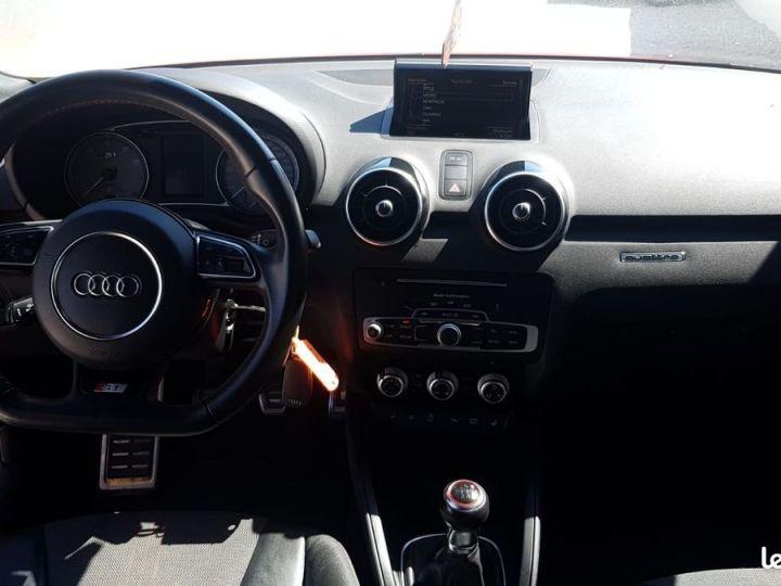 Audi S1  2.0 TFSI 231ch * FRANCAISE * EXCELLENT ETAT * GARANTIE Rouge et Noir  - 4
