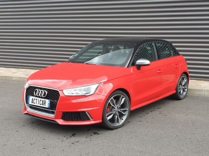 Audi S1 sportback 2.0 tfsi 231. bv6 .5 pts Rouge Occasion - 1