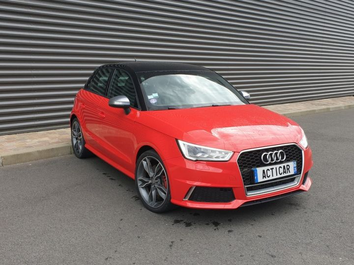 Audi S1 sportback 2.0 tfsi 231. bv6 .5 pts Rouge Occasion - 2