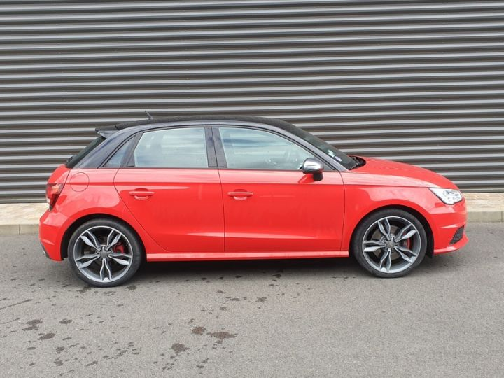 Audi S1 sportback 2.0 tfsi 231. bv6 .5 pts Rouge Occasion - 3