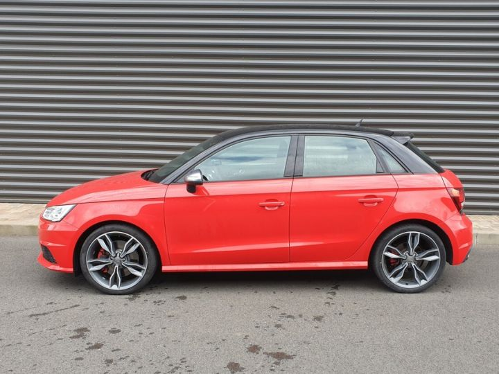 Audi S1 sportback 2.0 tfsi 231. bv6 .5 pts Rouge Occasion - 4