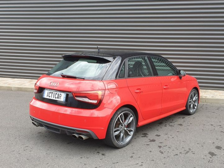 Audi S1 sportback 2.0 tfsi 231. bv6 .5 pts Rouge Occasion - 20