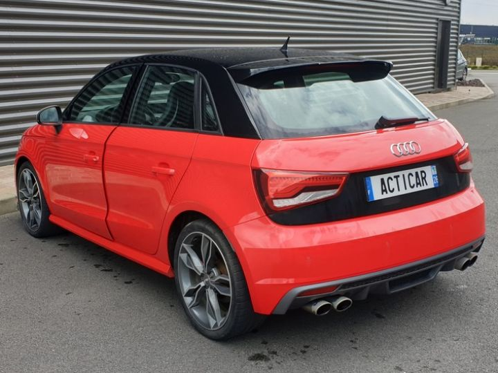Audi S1 sportback 2.0 tfsi 231. bv6 .5 pts Rouge Occasion - 21