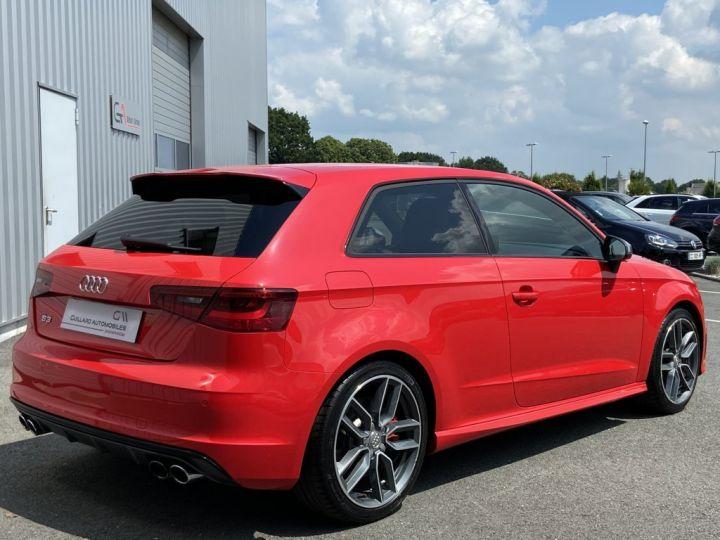 Audi S3 2.0 TFSI 300ch QUATTRO S-TRONIC 6 ROUGE - 6