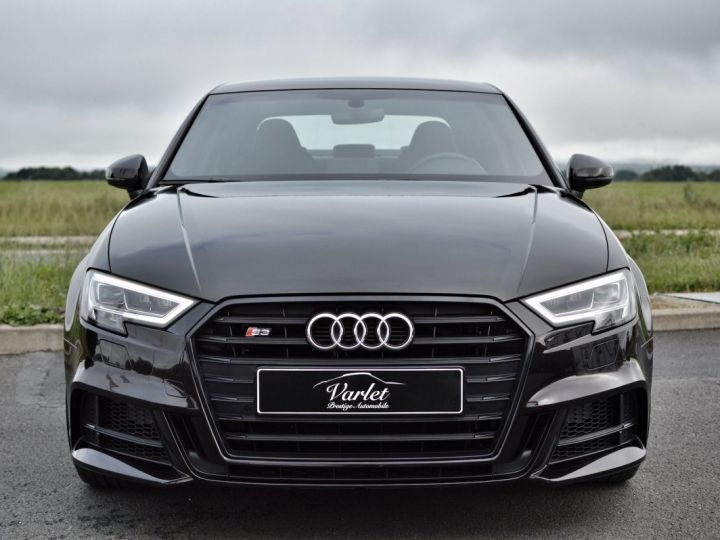 Audi S3 Audi s3 berline ph.2 2.0 tfsi 310 stronic led 2017 NOIR PANTHERE - 2