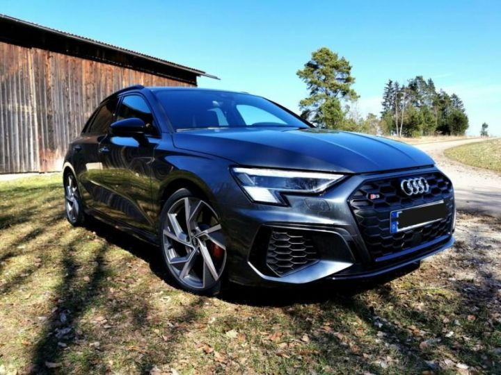 Audi S3 Audi S3 TFSI Sportback S tronic * malus inclus * toit ouvrant  gris daytonna - 1