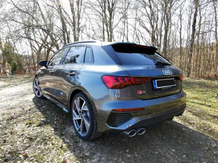 Audi S3 Audi S3 TFSI Sportback S tronic * malus inclus * toit ouvrant  gris daytonna - 5