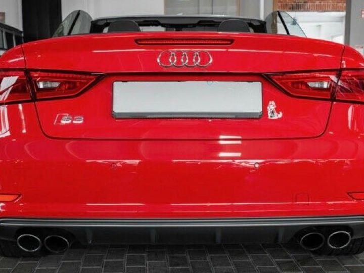 Audi S3 CABRIOLET 2.0 TFSI 300 QUATTRO  Rouge effet perlé - 4