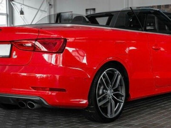 Audi S3 CABRIOLET 2.0 TFSI 300 QUATTRO  Rouge effet perlé - 5
