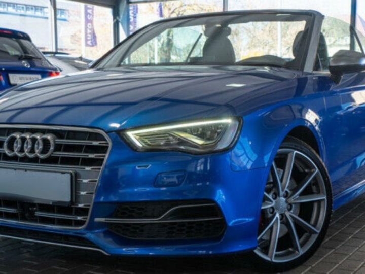 Audi S3 CABRIOLET 2.0 TFSI 300 QUATTRO Bleu Sepang effet nacré - 1