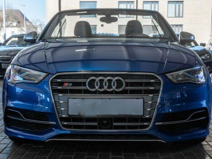 Audi S3 CABRIOLET 2.0 TFSI 300 QUATTRO Bleu Sepang effet nacré - 2