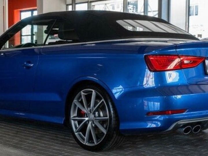 Audi S3 CABRIOLET 2.0 TFSI 300 QUATTRO Bleu Sepang effet nacré - 4