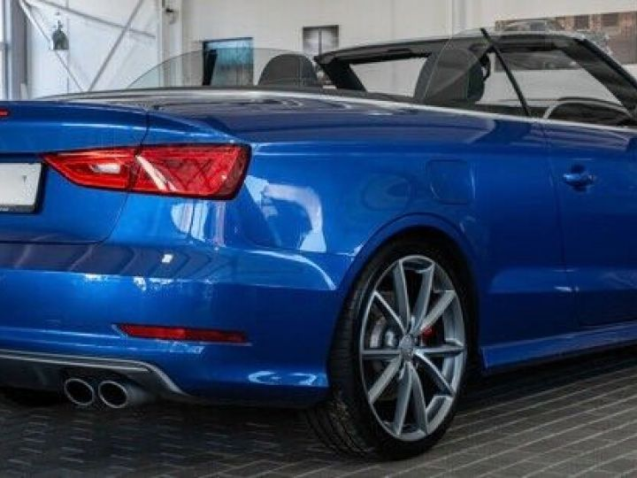 Audi S3 CABRIOLET 2.0 TFSI 300 QUATTRO Bleu Sepang effet nacré - 6