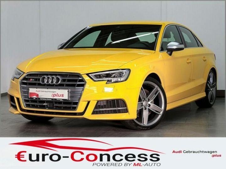 Audi S3 S3 Berline 2.0 TFSI Quattro jaune Vegas - 1