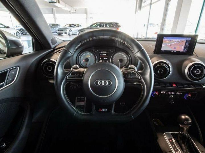 Audi S3 SPORTBACK 2.0 TFSI 300 QUATTRO Noir Mythos métallisé - 7