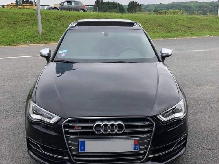 Audi S3 SPORTBACK 300ch / Toit Ouvrant / Keyless / Meplat / Sièges sport / Origine Française Noir métallisée  - 1