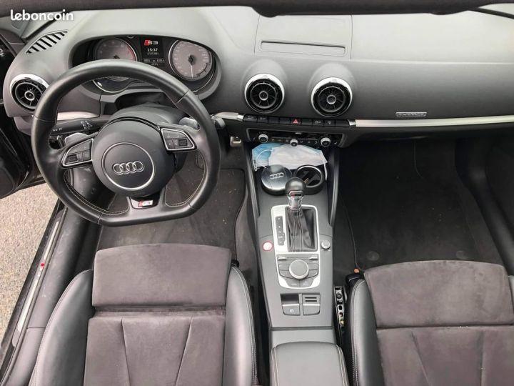 Audi S3 SPORTBACK 300ch / Toit Ouvrant / Keyless / Meplat / Sièges sport / Origine Française Noir métallisée  - 5