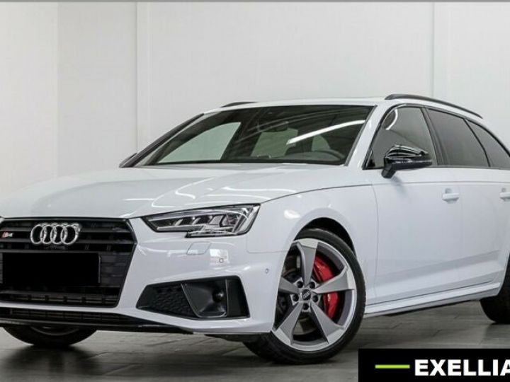 Audi S4 Avant TDI BLANC PEINTURE METALISE  Occasion - 1