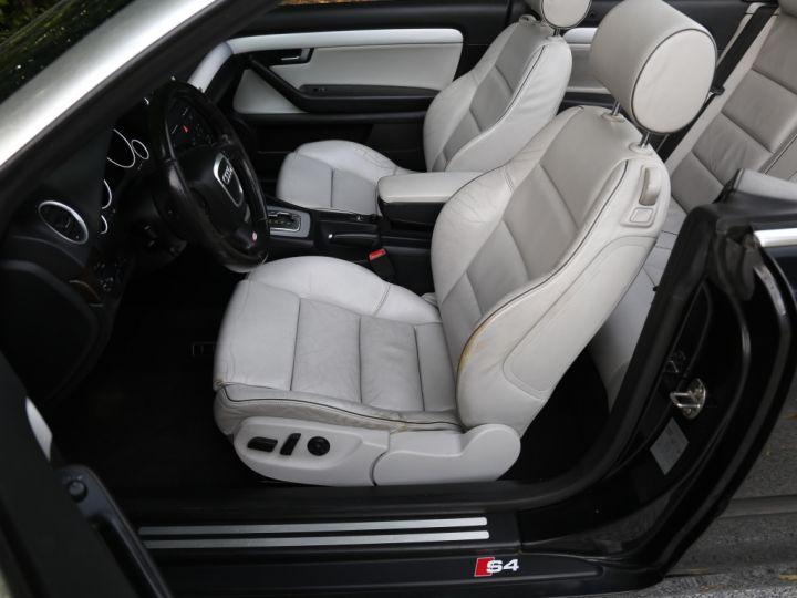 Audi S4 CABRIOLET 4.2 V8 344 Quattro Tiptronic A Noir - 2