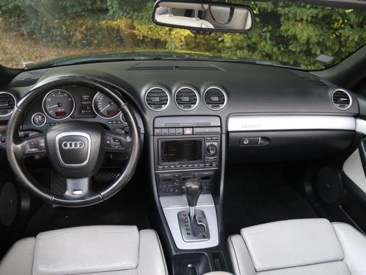 Audi S4 CABRIOLET 4.2 V8 344 Quattro Tiptronic A Noir - 7