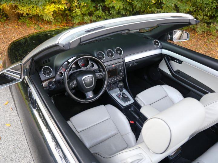Audi S4 CABRIOLET 4.2 V8 344 Quattro Tiptronic A Noir - 9