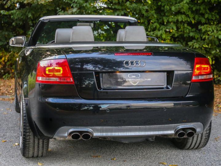 Audi S4 CABRIOLET 4.2 V8 344 Quattro Tiptronic A Noir - 10