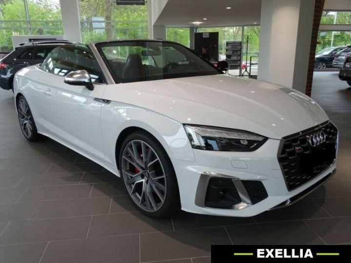 Audi S5 Cabriolet 3.0 TFSI  BLANC PEINTURE METALISE  Occasion - 1