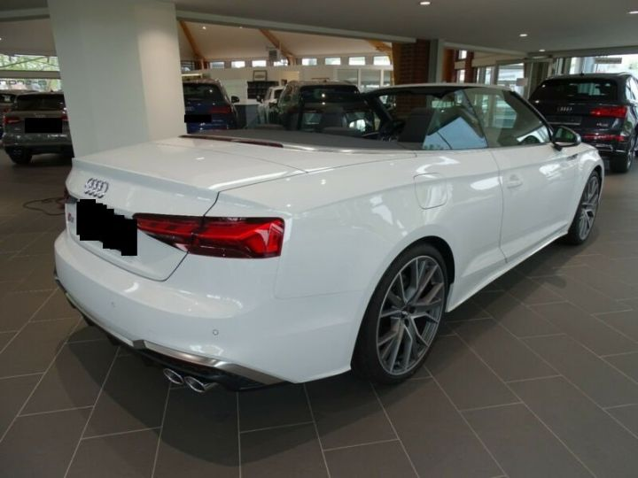 Audi S5 Cabriolet 3.0 TFSI  BLANC PEINTURE METALISE  Occasion - 8