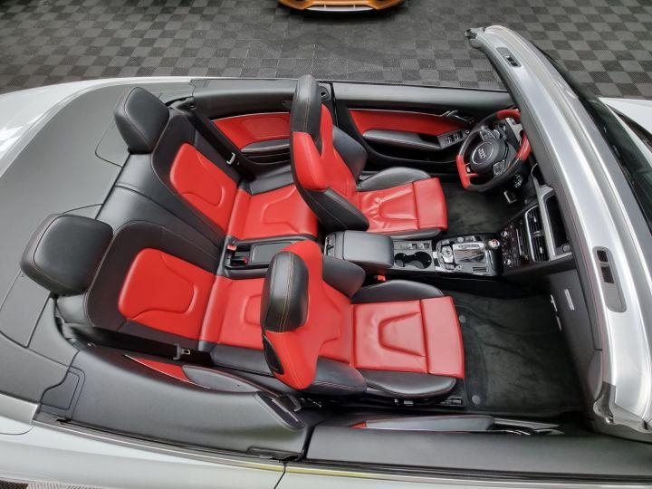 Audi S5 Cabriolet 3.0 TFSI 333 QUATTRO Blanc Glacier Métallisé - 2