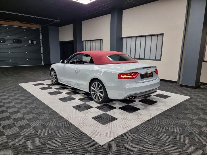 Audi S5 Cabriolet 3.0 TFSI 333 QUATTRO Blanc Glacier Métallisé - 3