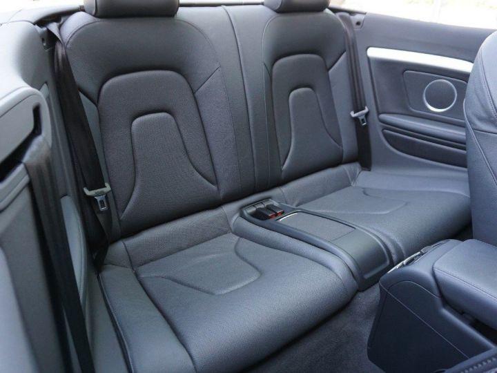 Audi S5 Cabriolet 3.0 TFSI 333 quattro AUTO noir metal - 10