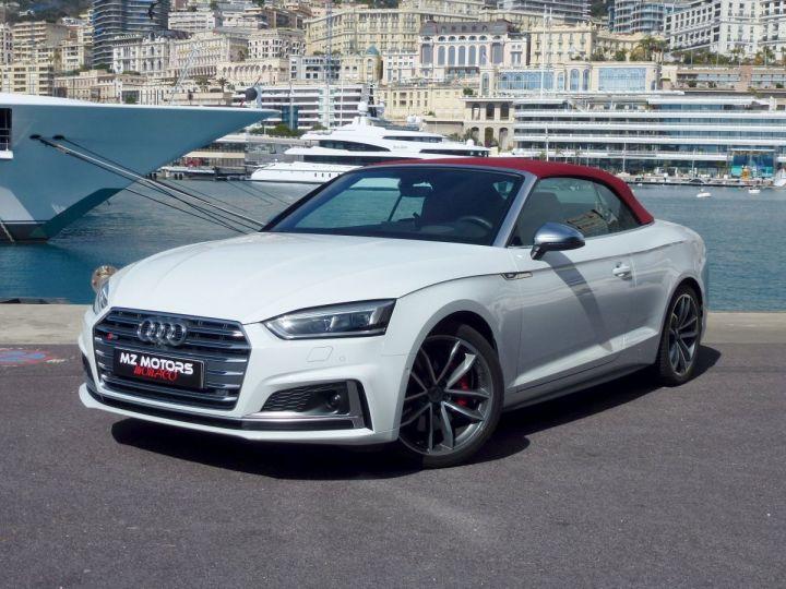 Audi S5 CABRIOLET 3.0 TFSI 354 QUATTRO TIPTRONIC 8 Blanc Glacier Occasion - 3