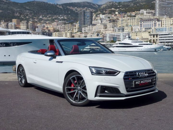 Audi S5 CABRIOLET 3.0 TFSI 354 QUATTRO TIPTRONIC 8 Blanc Glacier Occasion - 6