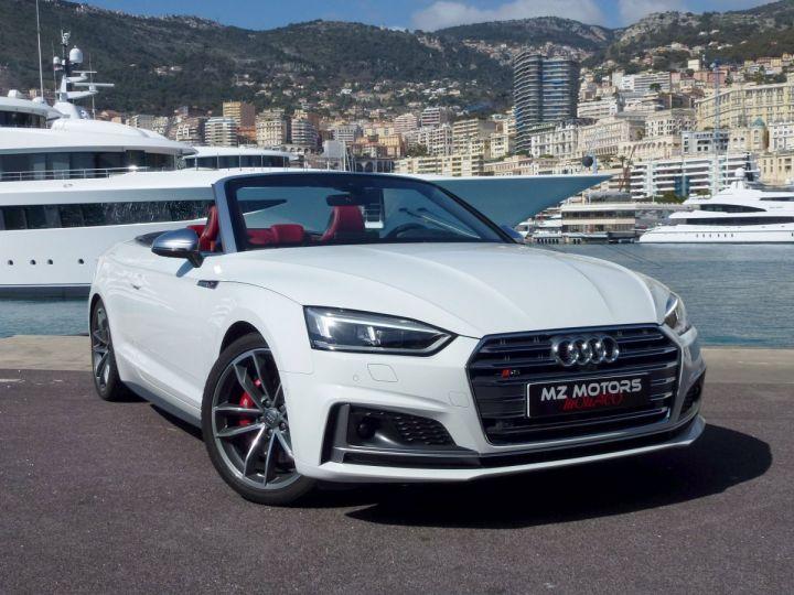 Audi S5 CABRIOLET 3.0 TFSI 354 QUATTRO TIPTRONIC 8 Blanc Glacier Occasion - 7
