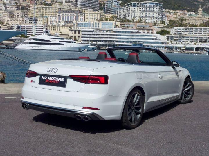 Audi S5 CABRIOLET 3.0 TFSI 354 QUATTRO TIPTRONIC 8 Blanc Glacier Occasion - 8