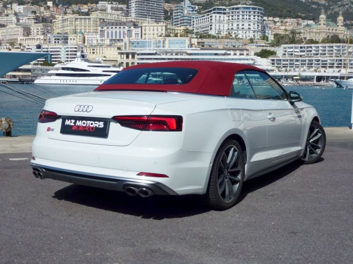 Audi S5 CABRIOLET 3.0 TFSI 354 QUATTRO TIPTRONIC 8 Blanc Glacier Occasion - 9