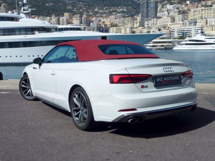 Audi S5 CABRIOLET 3.0 TFSI 354 QUATTRO TIPTRONIC 8 Blanc Glacier Occasion - 10