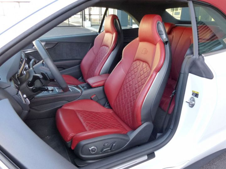 Audi S5 CABRIOLET 3.0 TFSI 354 QUATTRO TIPTRONIC 8 Blanc Glacier Occasion - 13