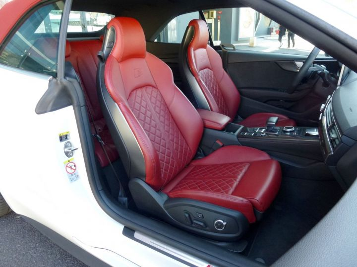 Audi S5 CABRIOLET 3.0 TFSI 354 QUATTRO TIPTRONIC 8 Blanc Glacier Occasion - 14