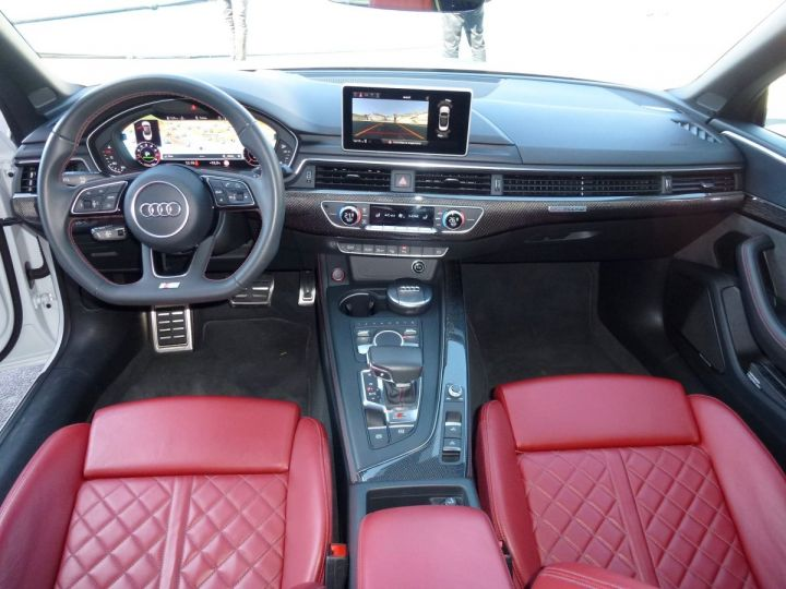 Audi S5 CABRIOLET 3.0 TFSI 354 QUATTRO TIPTRONIC 8 Blanc Glacier Occasion - 16