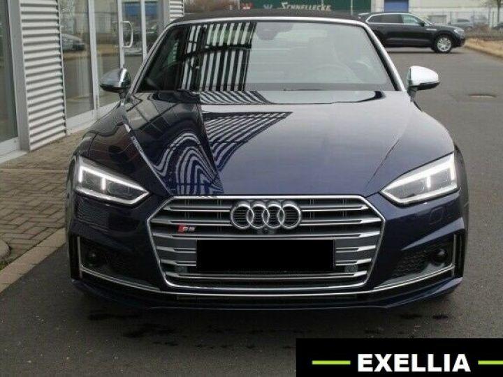 Audi S5 CABRIOLET 3.0 TFSI QUATTRO BLEU Occasion - 1