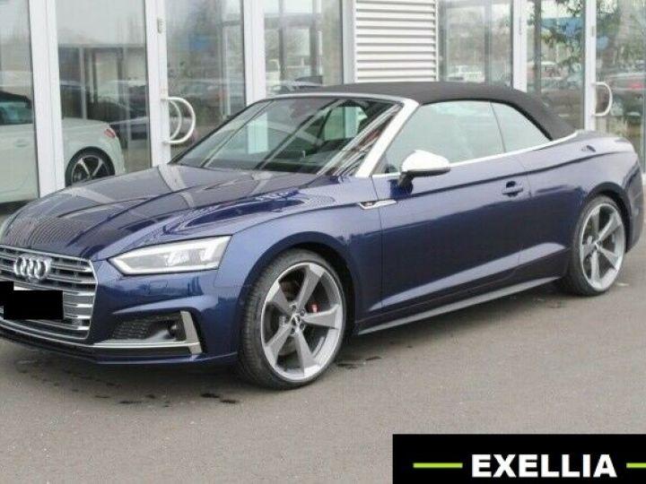 Audi S5 CABRIOLET 3.0 TFSI QUATTRO BLEU Occasion - 2