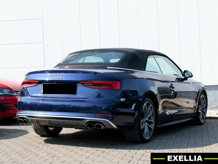 Audi S5 CABRIOLET 3.0 TFSI QUATTRO  bleu NAVARRA Occasion - 2