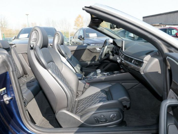 Audi S5 CABRIOLET 3.0 TFSI QUATTRO  bleu NAVARRA Occasion - 3
