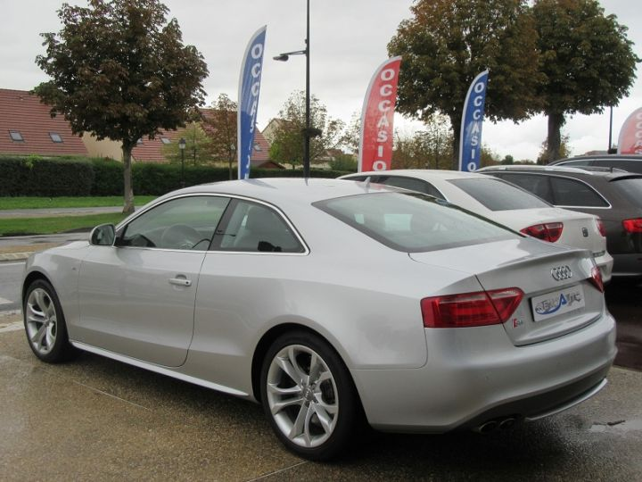 Audi S5 COUPE 4.2 V8 FSI 354CH QUATTRO TIPTRONIC Gris Clair Occasion - 3