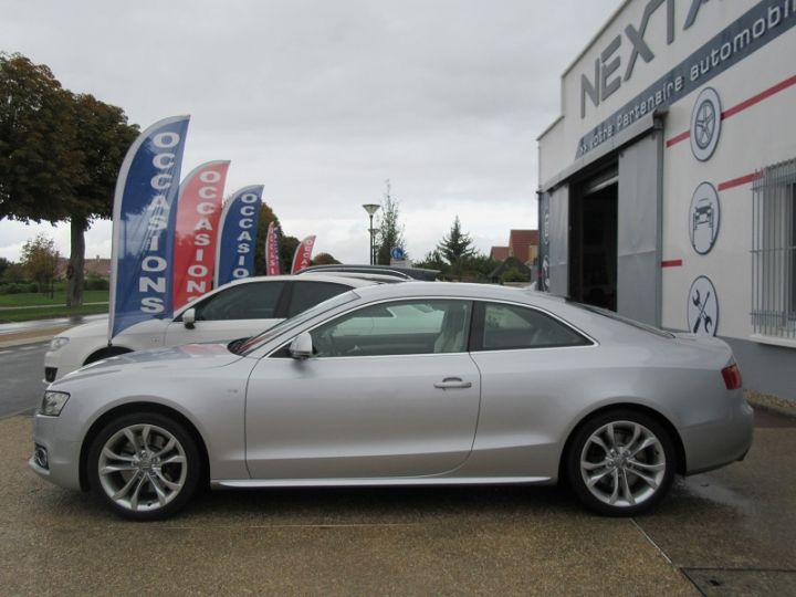 Audi S5 COUPE 4.2 V8 FSI 354CH QUATTRO TIPTRONIC Gris Clair Occasion - 5